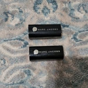 Lot of 2 Marc Jacob's travel lipsticks